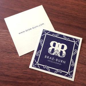 BRAE-BURN -mizusawa- ショップカード01