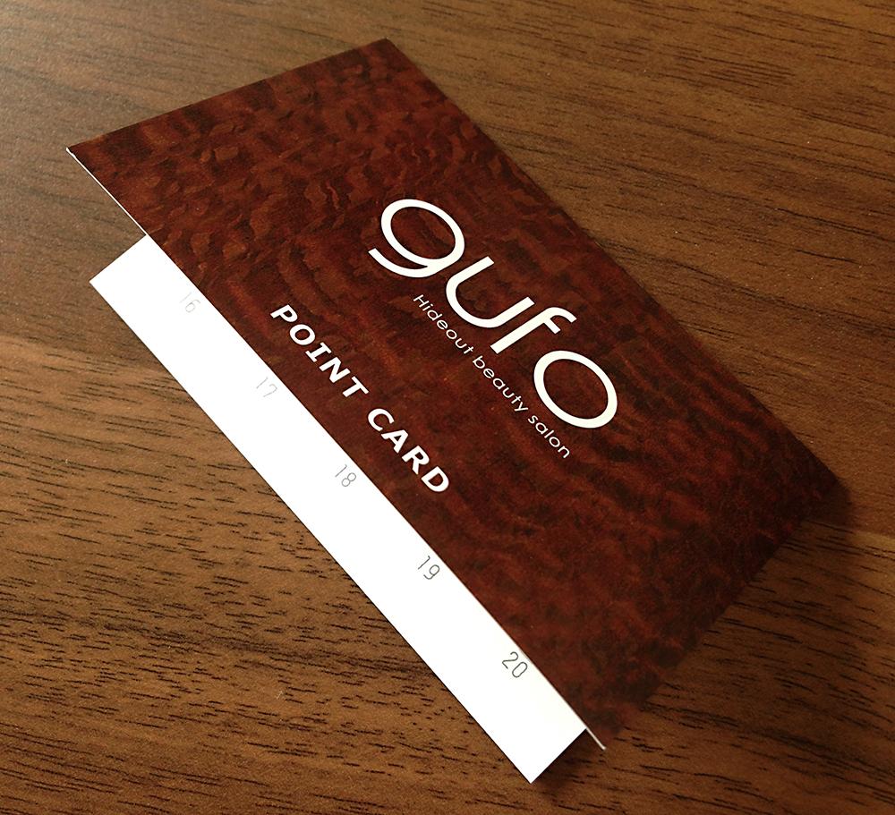 [ポイントカード]gufo様
