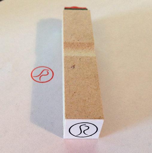 CinQ-R & Blanc 様 スタンプカード用ゴム印