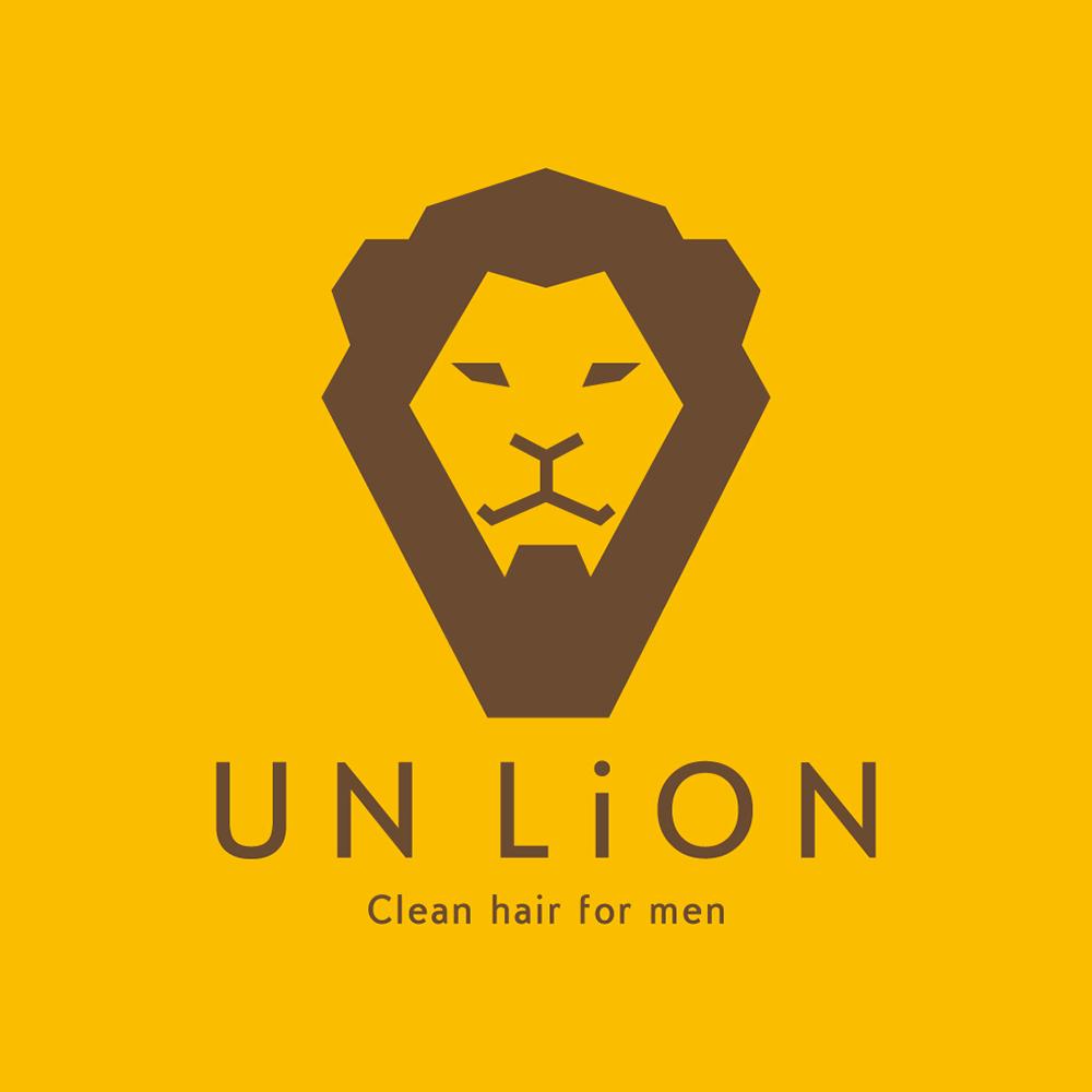 [ロゴデザイン]メンズ脱毛サロン UN LiON様