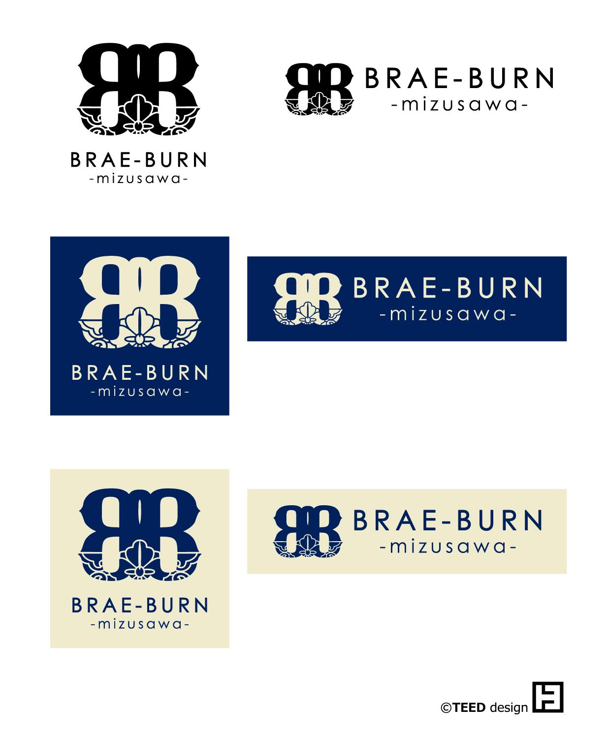 BRAE-BURNロゴパターン