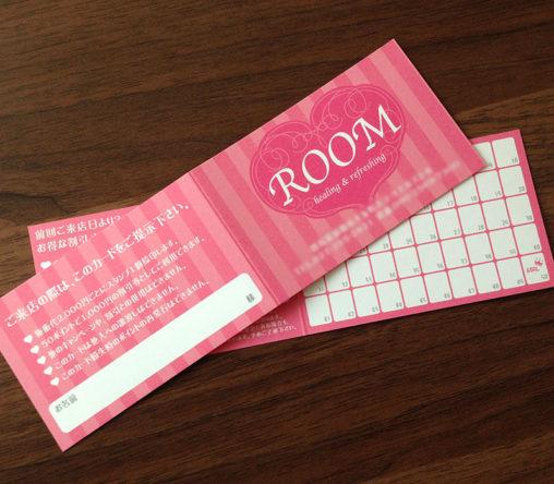 ROOM様ポイントカードデザイン
